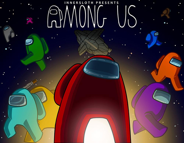 המשחק Among Us. נוצר על ידי צוות של שלושה אנשים